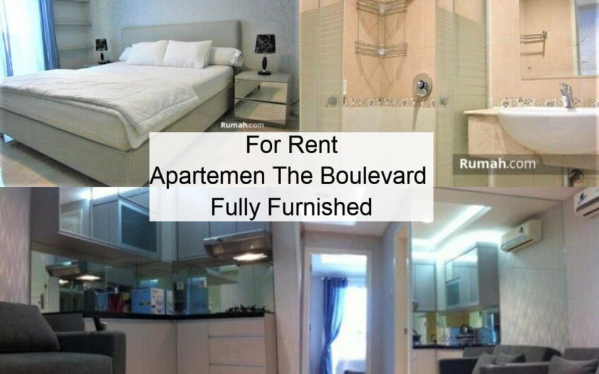 For Rent Apt The Boulevard 1 BR Fully Furnish