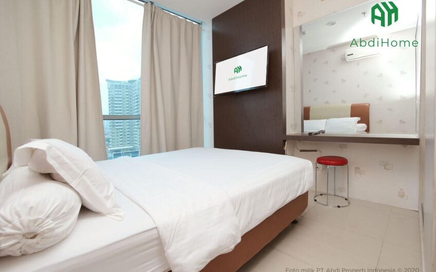 GP plaza 2BR Fully furnished Elektronik lengkap