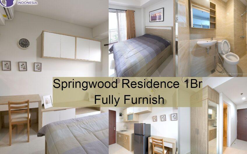 Springwood Residence 1Br Fully Furnish