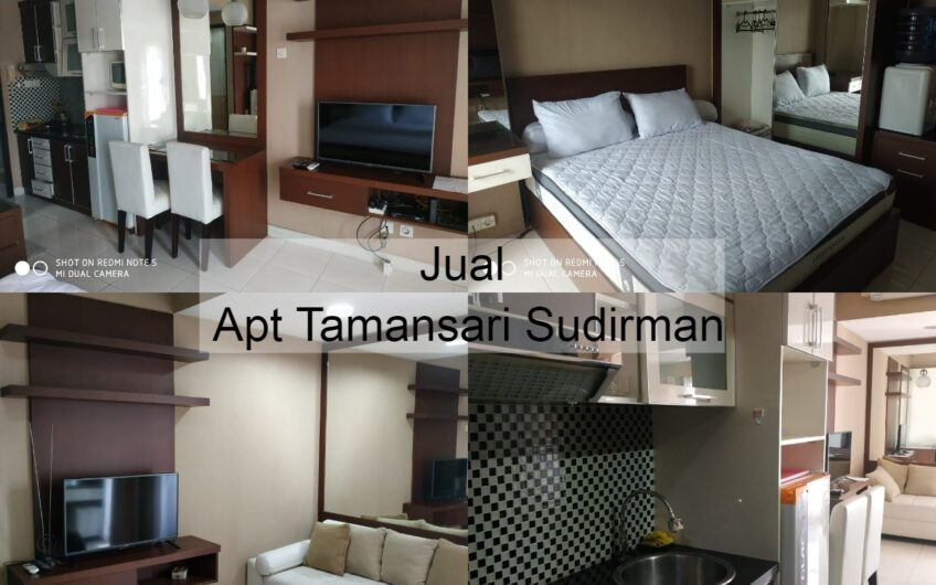 Tamansari Sudirman 1Br view city and fully furnish