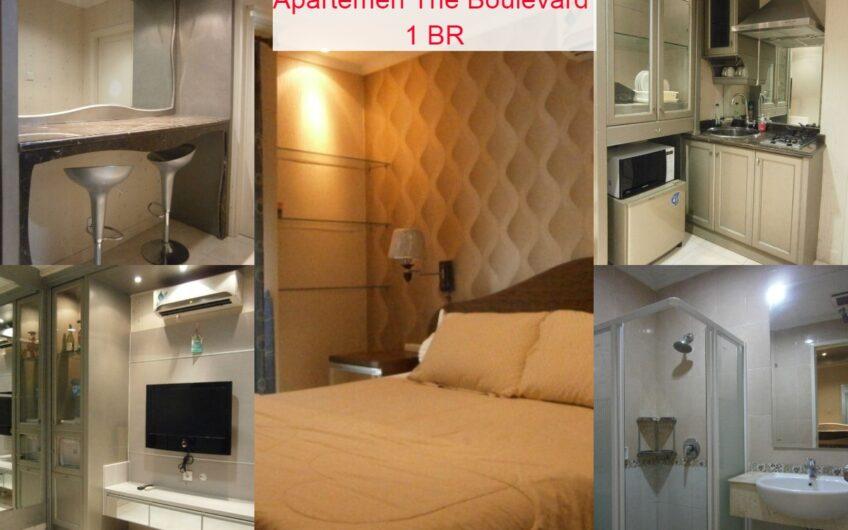 Jual Apartemen  The Boulevard 1 BR