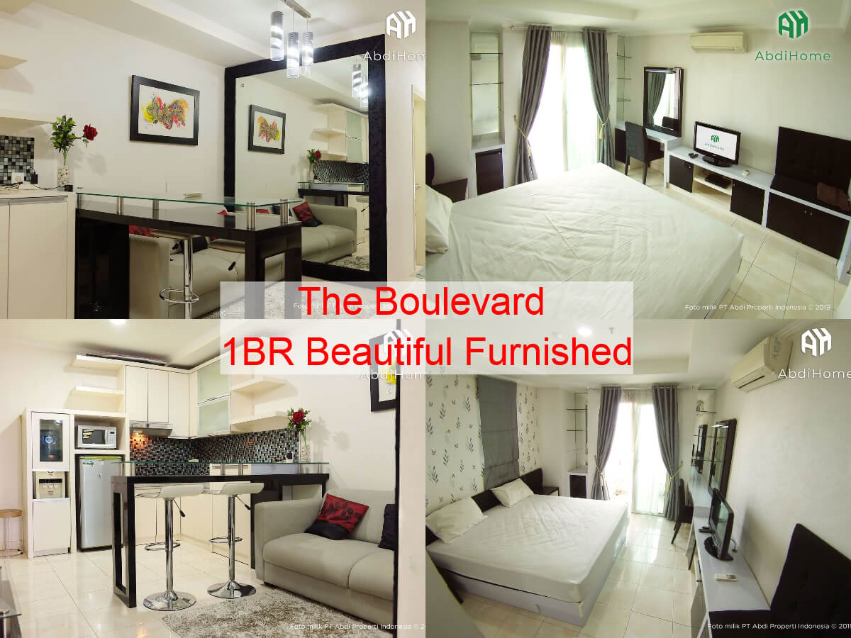 The Boulevard 1BR Beautiful Furnished
