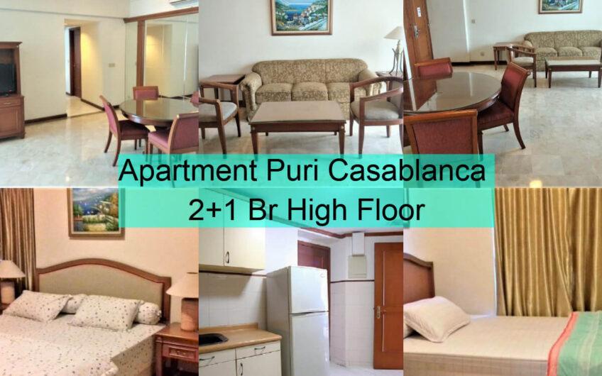 Apt Puri Casablanca 2+1 Br High Floor