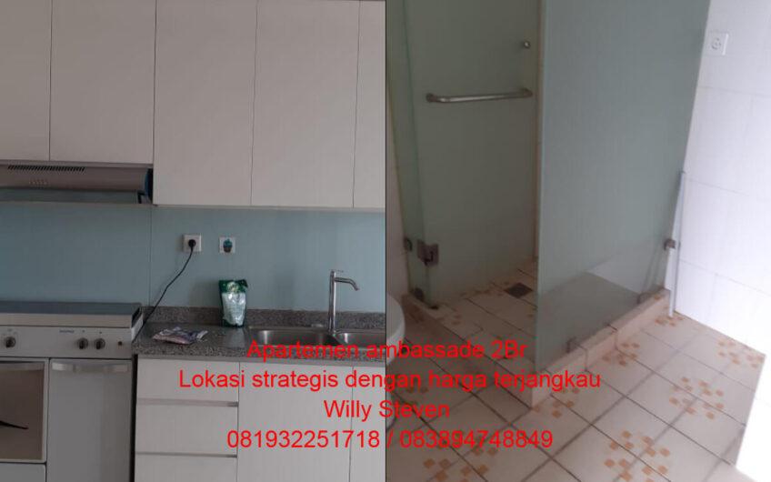 Jual Apartemen ambassade 2Br Lokasi strategis dengan harga terjangkau
