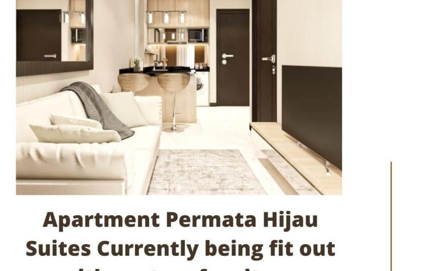 Apartment Permata Hijau Suites Currently being fit out with custom furniture