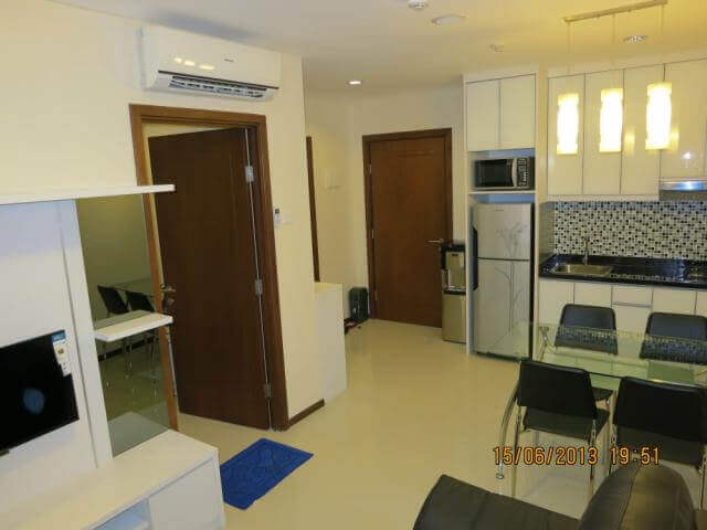 For rent Thamrin Executive 1br cozy scenery Grand Indonesia view east